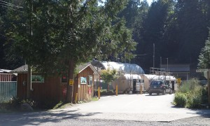 Bowen Island Gas Station is close