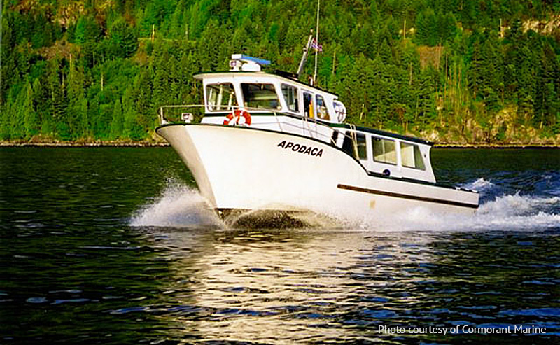 Cormorant Marine offers late-night passenger service to/from Horseshoe Bay