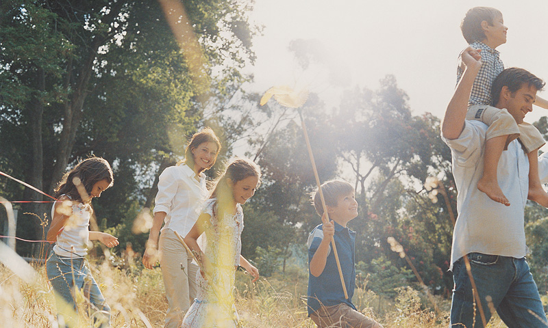 Take a family walk in the forest without fear of predators