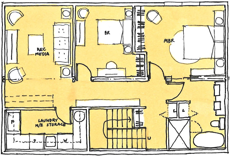 Floor-Plan-concept-881-Russell-Lane-Lot-4-1728-sf-option-lower-floor