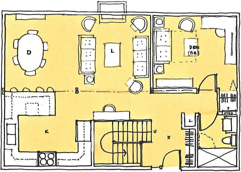 Floor-Plan-concept-881-Russell-Lane-Lot-4-1728-sf-option-main-floor