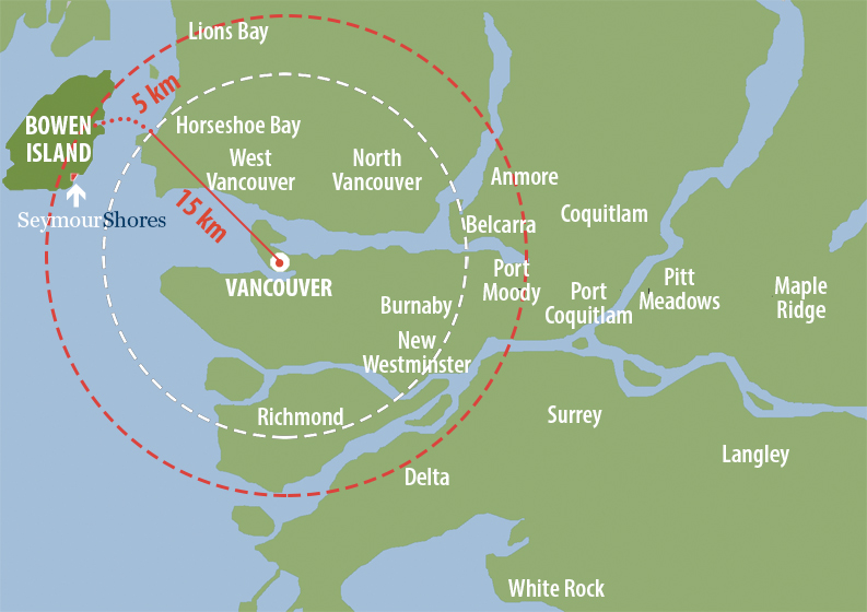 Map—Seymour Shores and Greater Vancouver