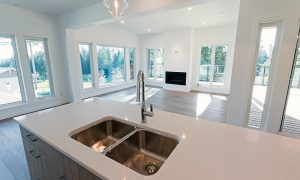 Expansive windows in the living+dining+kitchen areas (neighbouring home)