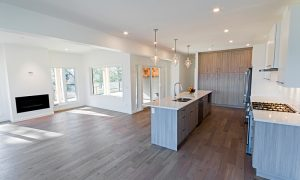 Kitchen, living, and dining areas (neighbouring home)