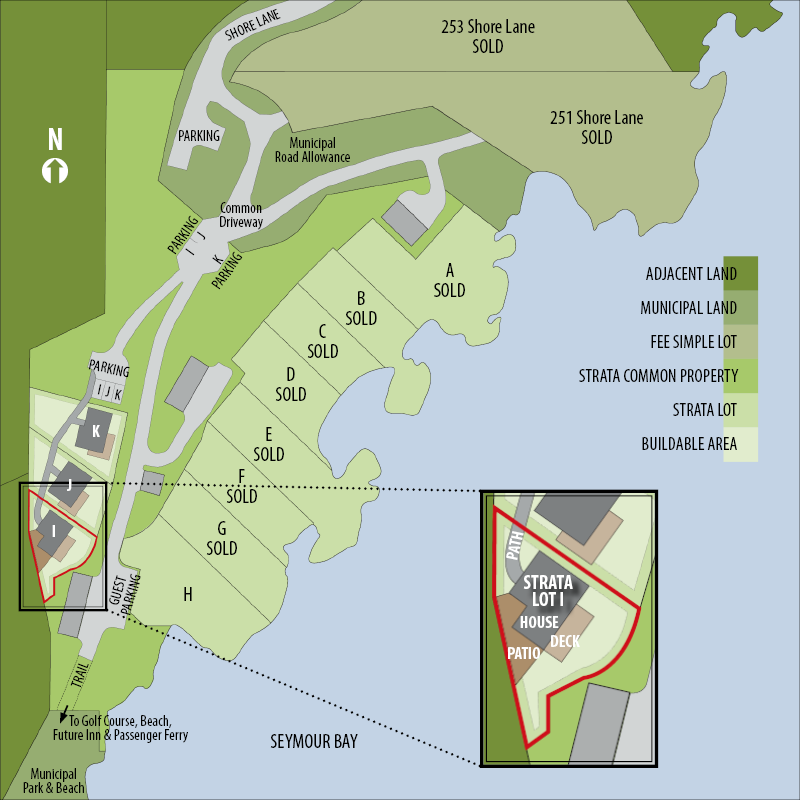 Site-Plan-Seymour-Shores-Strata-Lot-I
