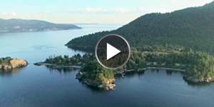 Video—Bowen Island from the air