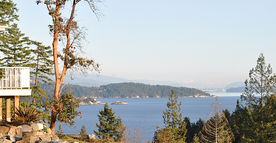 View of Vancouver from Lot 4, Seymour Bay Drive