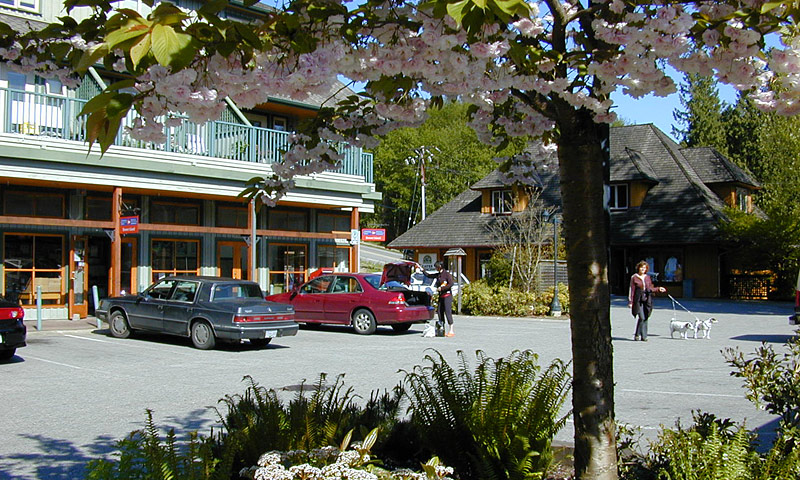 Village Square on Bowen Island
