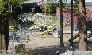 Walking distance to Bowen Island Community School (K to 7) & playground